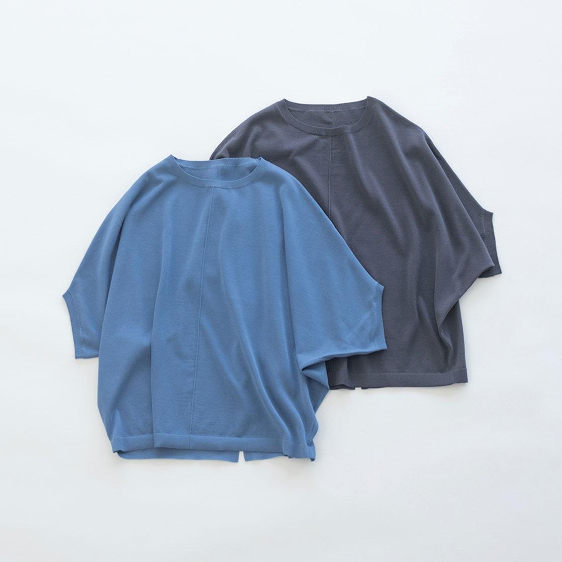 【着用レビュー】本日発売の「サマーニット」を、スタッフ2名に着てもらいました!