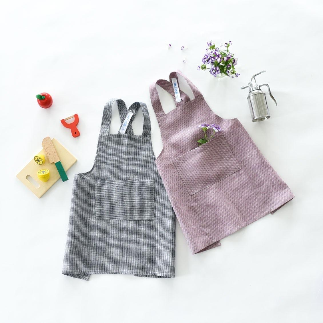 【新商品】当店別注!fog linen workの愛らしいキッズエプロンが登場です!