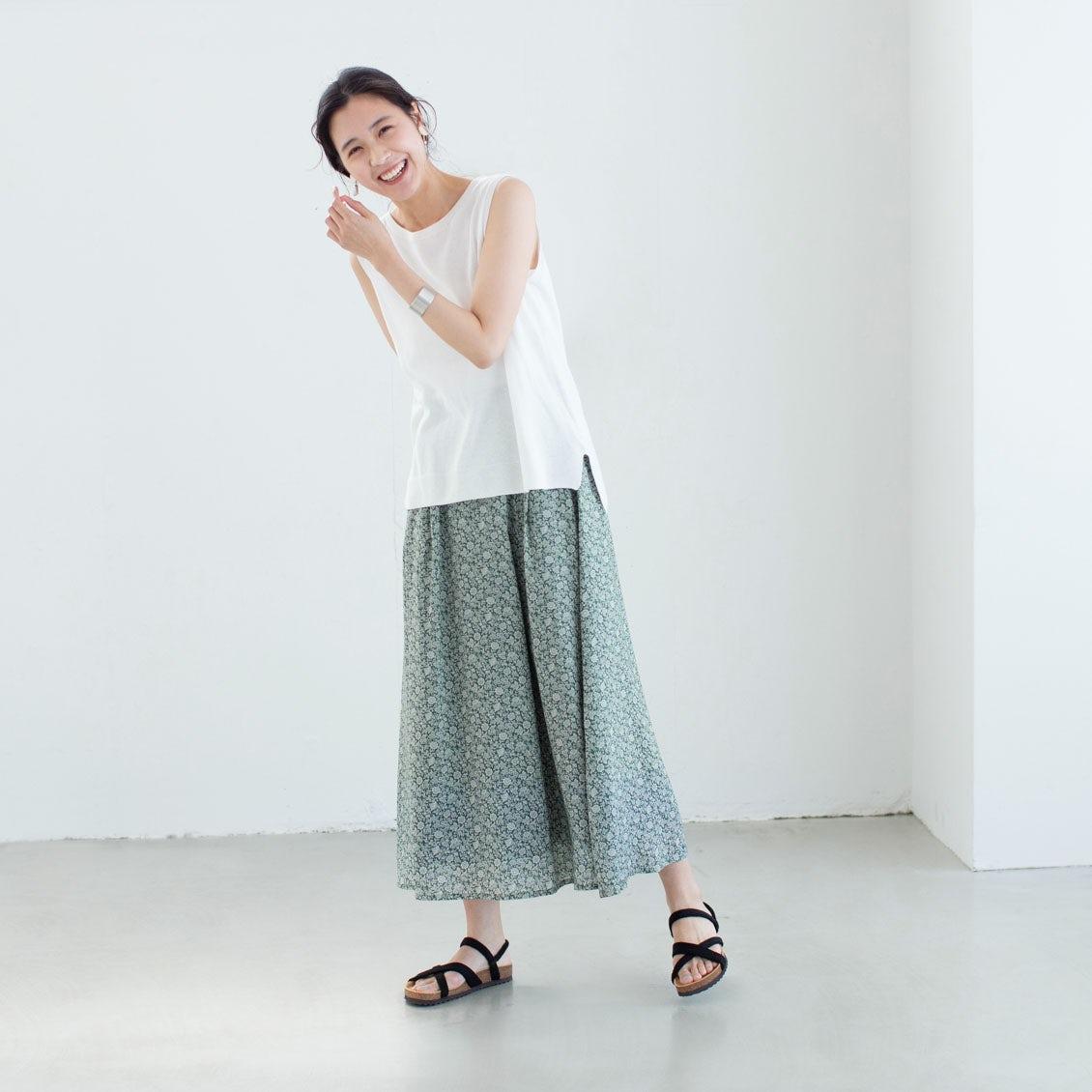 【当店別注】ここだけの特別な柄をつかった、リバティプリントのスカートが新登場!