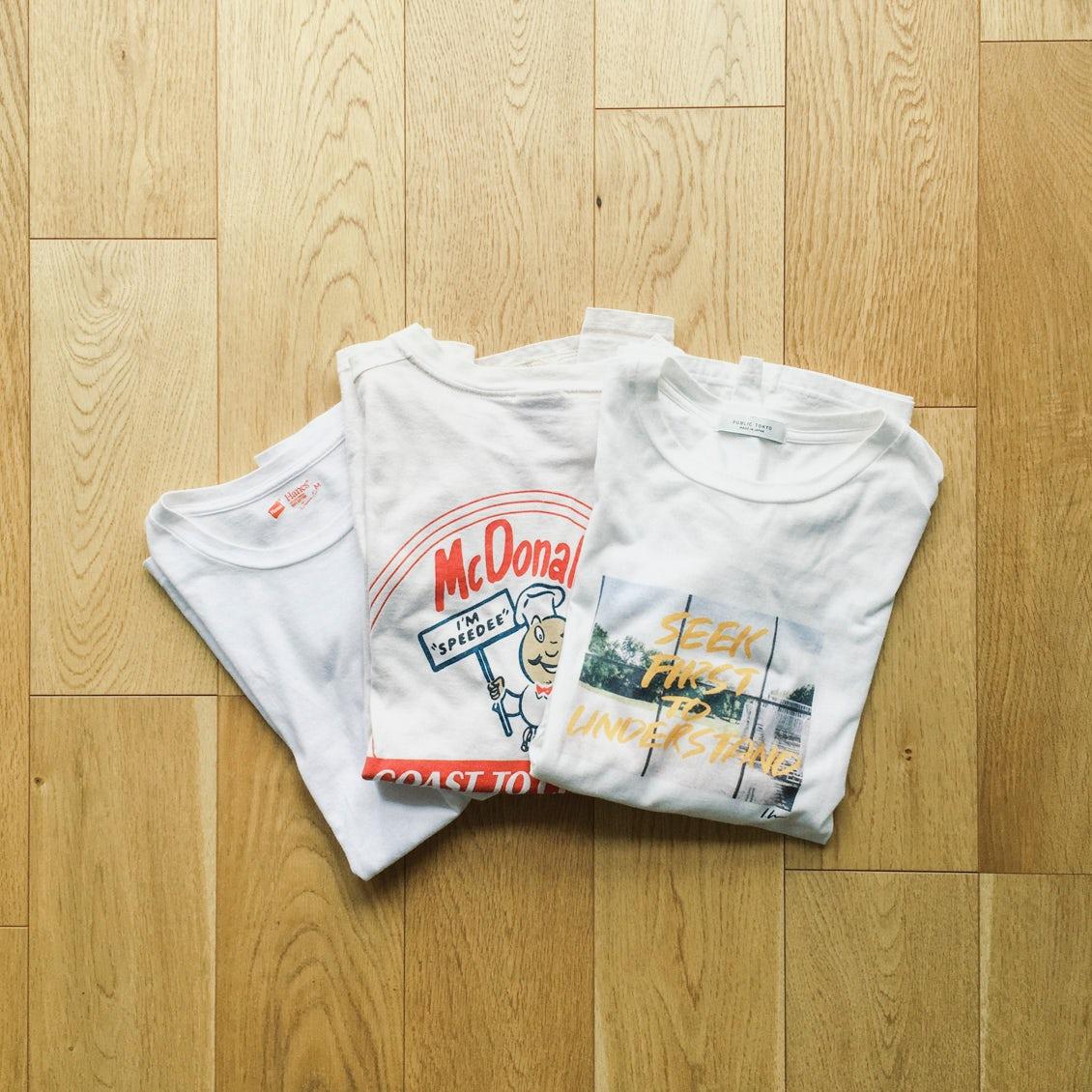 【スタッフコラム】Tシャツを選ぶのが、ずっと苦手でした。
