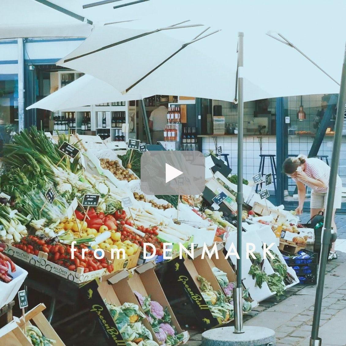 【北欧に暮らすひと第2弾】03:週末の過ごし方。自転車でマーケットをめぐる
