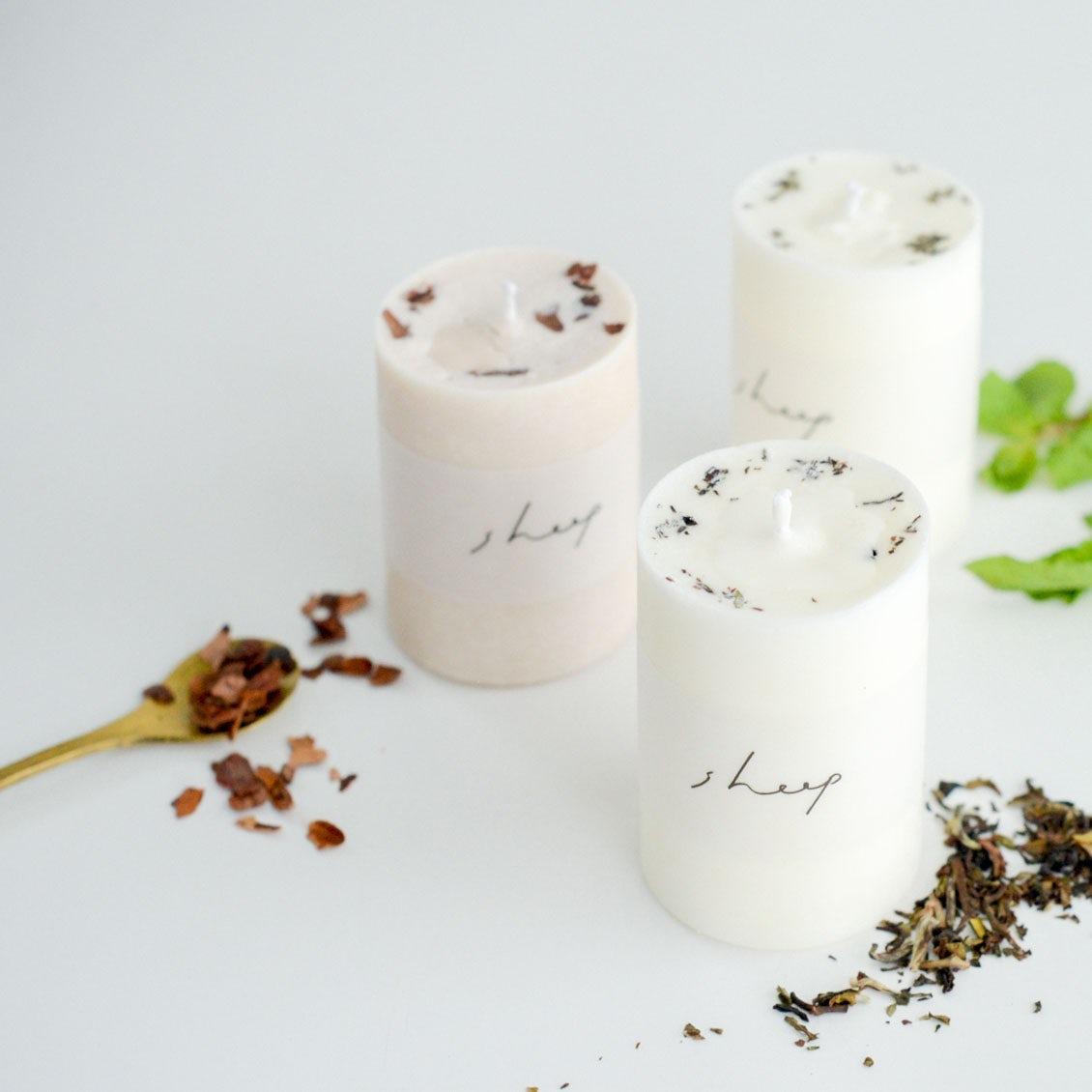 【新商品】ほっと一息つけるような癒しを。優しい光と香りで包んでくれるソイキャンドルが本日より発売です。