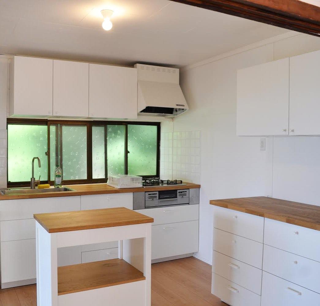 【あえて選んだ、築40年の家】第2話:はじめてのリフォーム。IKEAのキッチンを設置してみました。