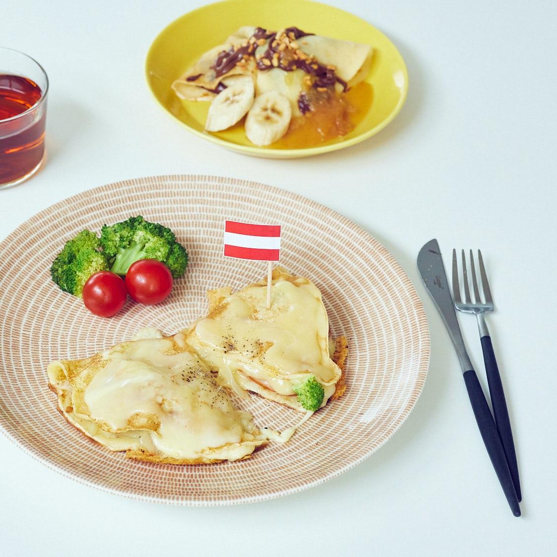 【週末は世界旅行!】第3話:週末の朝ごはんにいかが? オーストリアの「薄焼きパンケーキ」