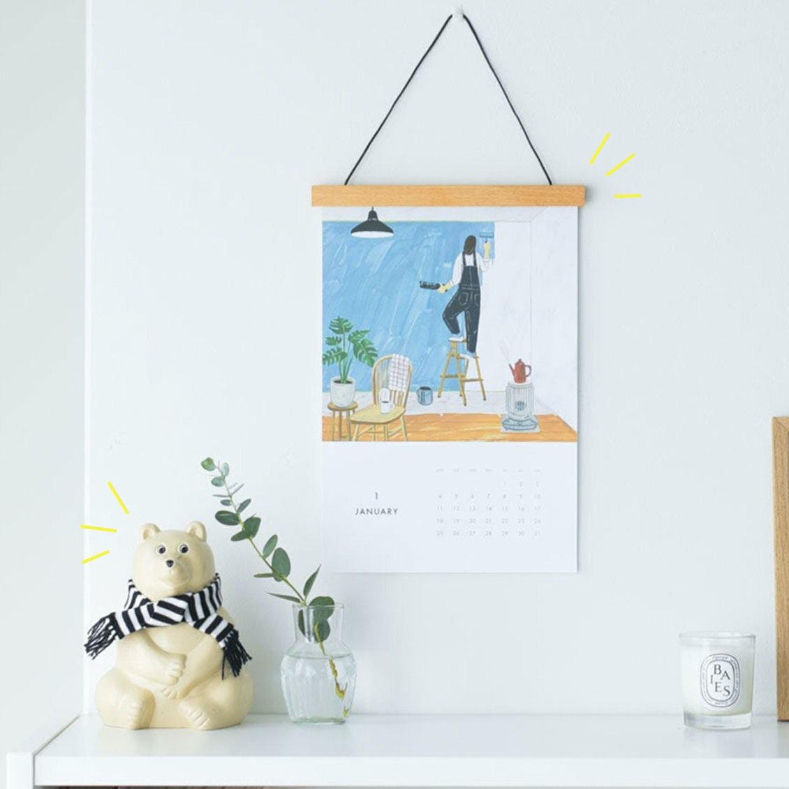 【数量限定】大人気の「当店オリジナルカレンダー」と「マフラー付き白くま貯金箱」が今年も登場です!