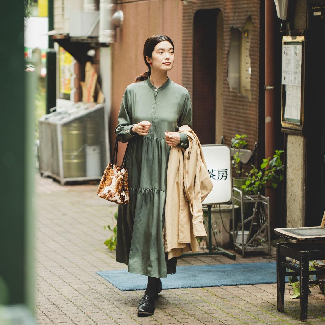【新商品】暮らしにひとさじの非日常を。秋に着たい、特別なワンピースをつくりました