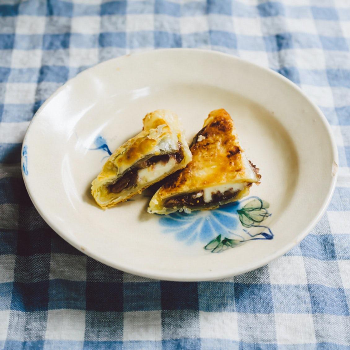 【今日はパイ日和】第3話 : イチジクの酸味がたまらない、あんことクリームチーズのパイ