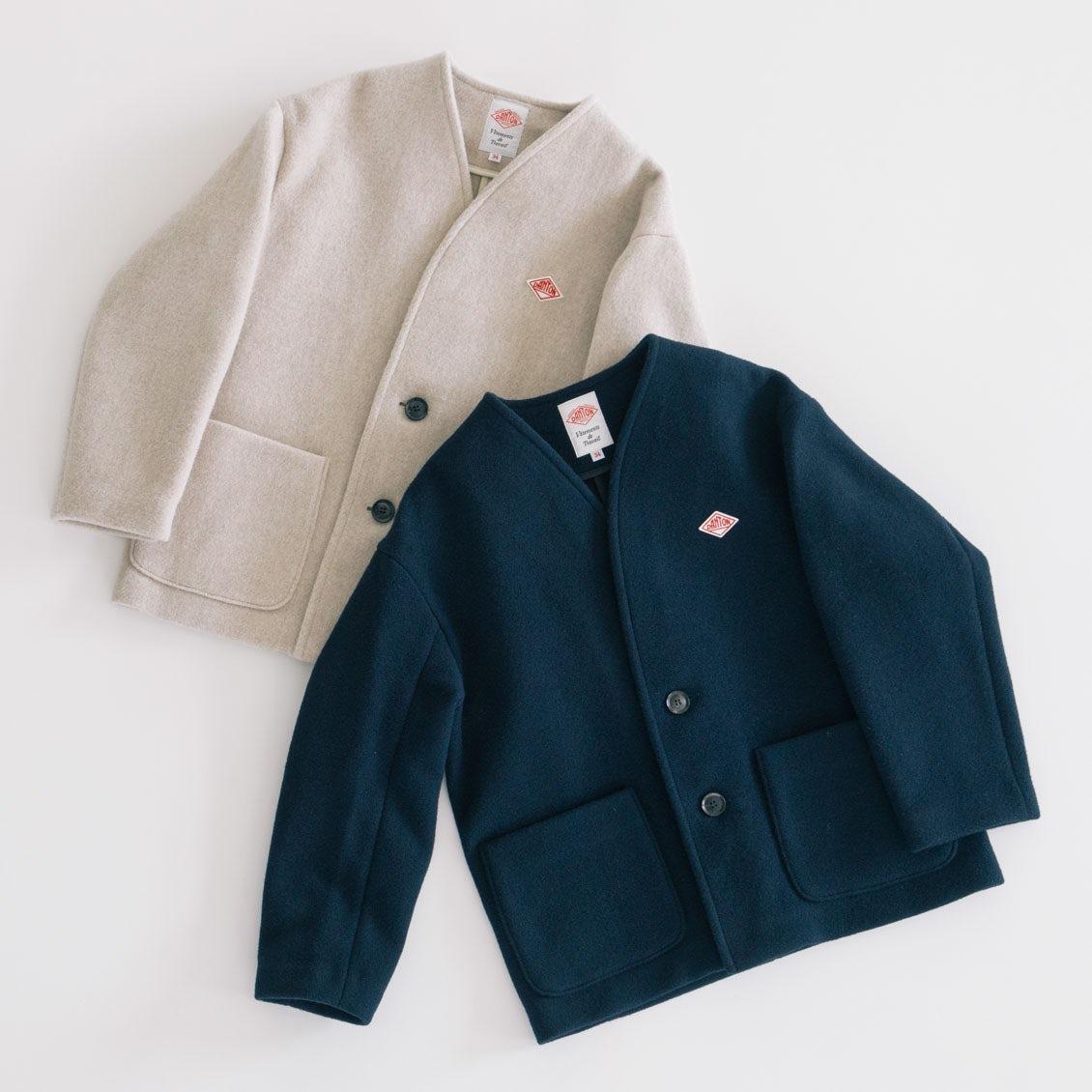 【新商品】どんなボトムスにも合わせやすい、着回し力抜群のDANTONショート丈コートの登場です!