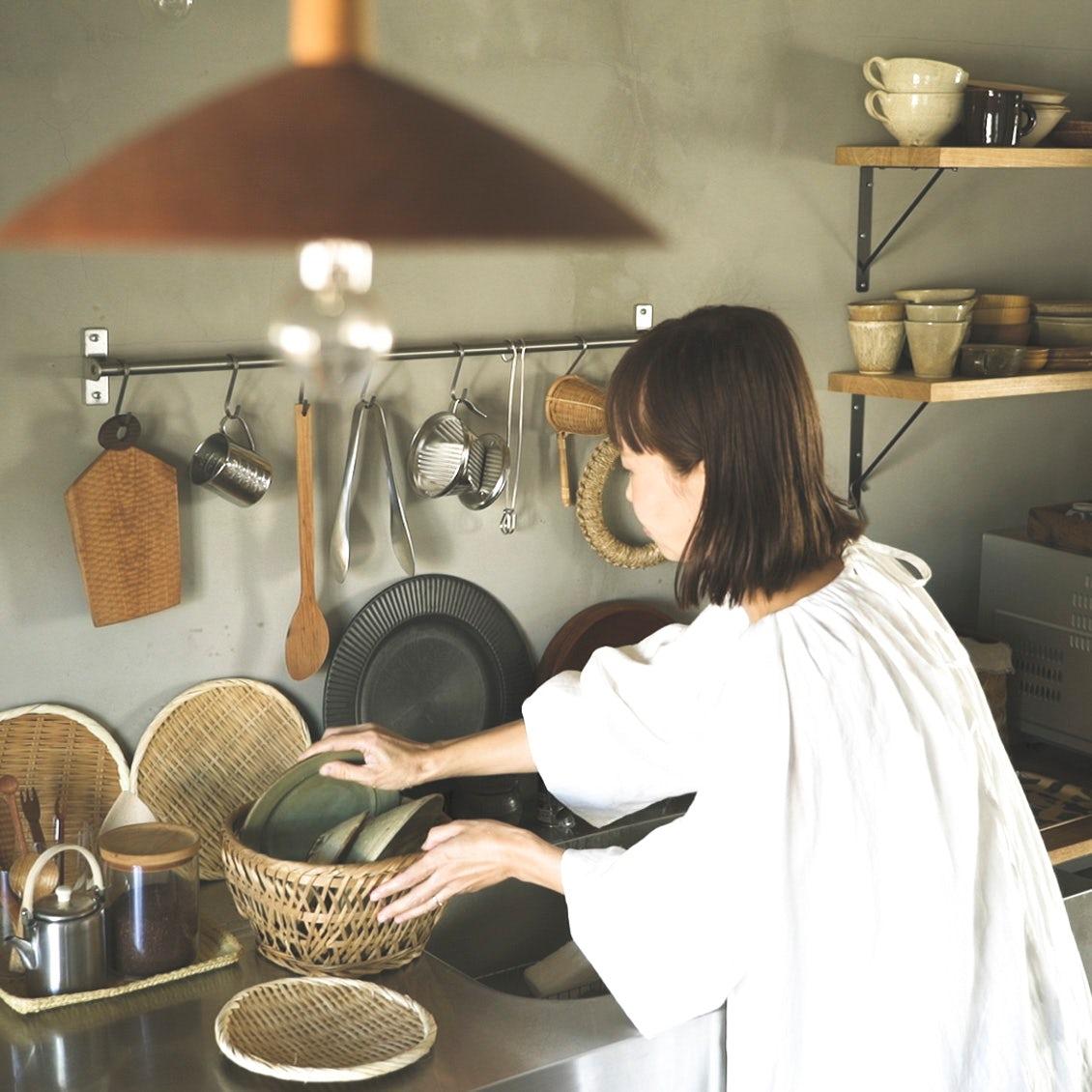 【キッチンの物選び】過ごす時間も長いから。大好きな場所にしてくれるお気に入りの道具たち