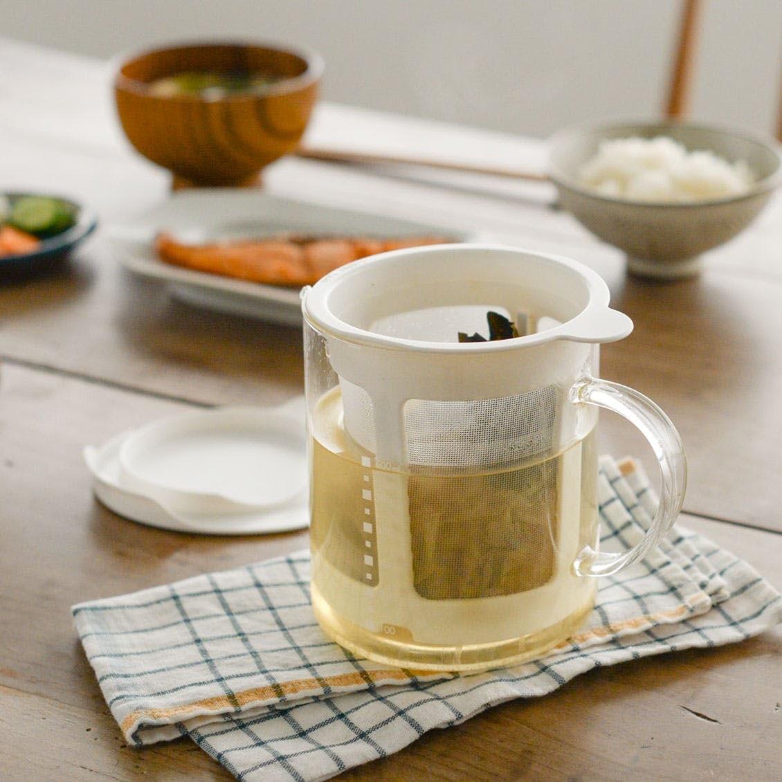 【新商品】毎日の味噌汁がごちそうに! レンジで簡単にだしが取れる「だしポット」が登場です
