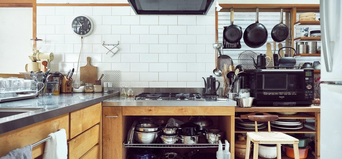 道具好きの台所