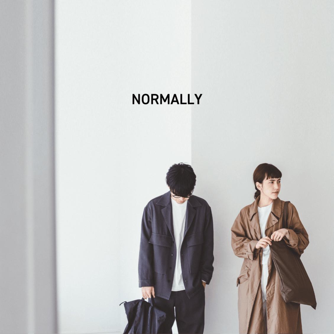 【新ブランド誕生のお知らせ】今日から、もうひとつのオリジナルブランド『NORMALLY』を展開していきます。