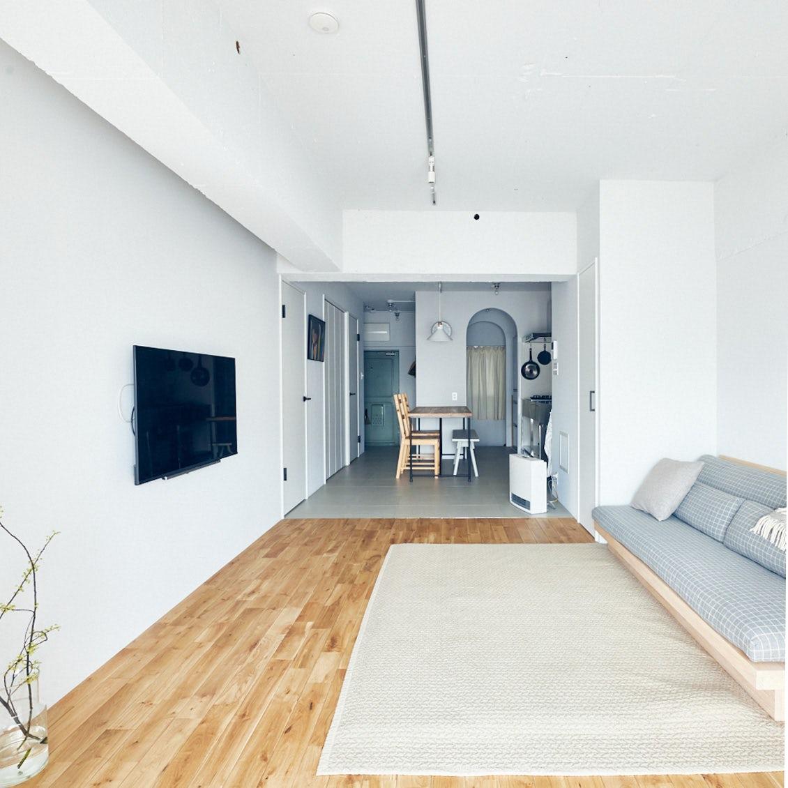 【スタッフのお宅訪問】第1話:築50年のマンションをフルリノベーション。スタッフ野村宅のインテリア