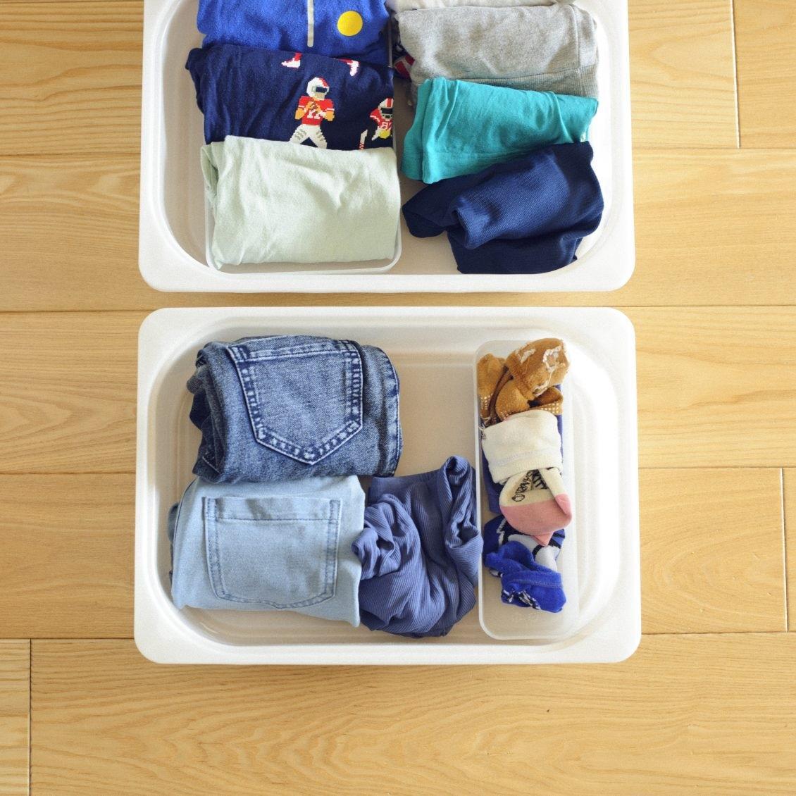 【親子で取りくむ収納】第3話:子どもが自分でラクに身支度できる服のしまい方って?