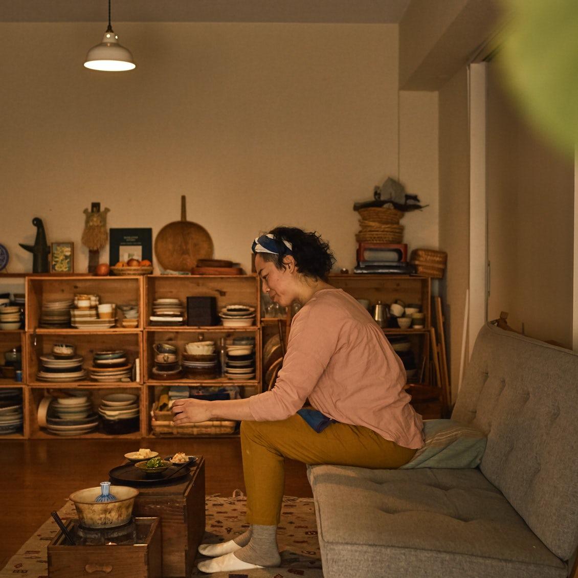 【キッチンからはじまる暮らし】第4話: いつもの部屋が違って見える。朝と夜のテーブルまわり
