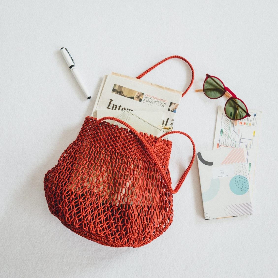 【新商品】夏コーデがぐっとおしゃれに♪ ころんと愛らしい「マクラメバッグ」が新登場です!