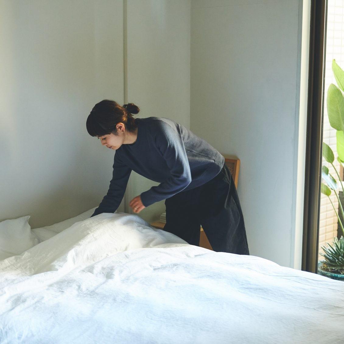 【春もぐっすり】洗濯機で丸洗いできる、北欧発の「掛け布団と枕」で快適な眠りを。