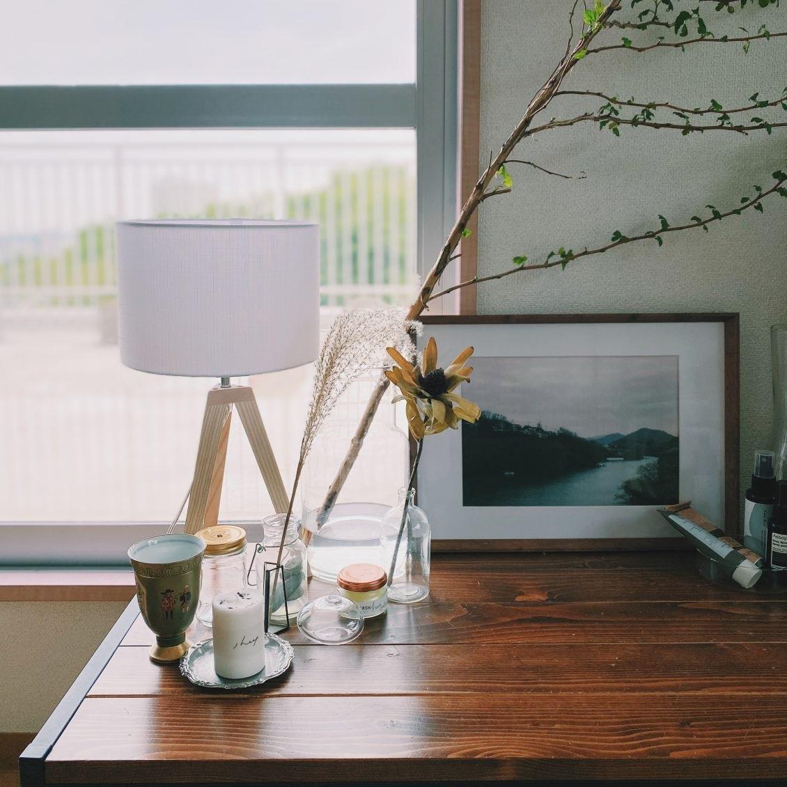 【スタッフの愛用品】気づけば部屋中で大活躍。間接照明の初心者も取り入れやすい「スタンドライト」