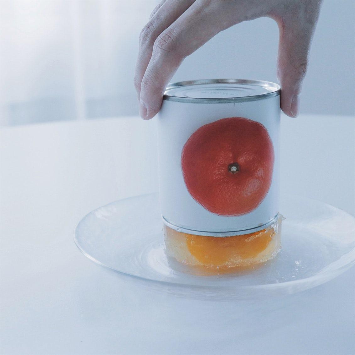 【tomei museum】recipe.2:缶詰まるごと、フルーツゼリー