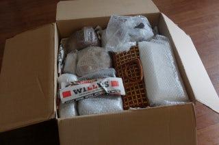 スウェーデンから届いた荷物
