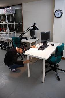 第7回 新スタッフ用の机など