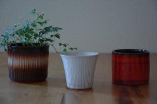 ウプサラの植木鉢